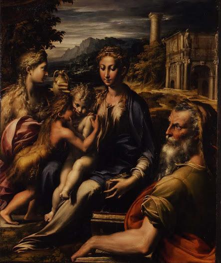 Parmigianino, Madonna del collo lungo