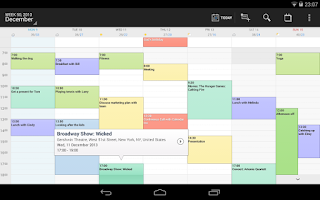 Screenshot of DigiCal+ Calendar & Widgets