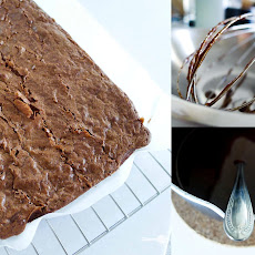 The Best Chewy Flourless Chocolate Brownies