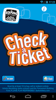 Screenshot of Check-a-Ticket
