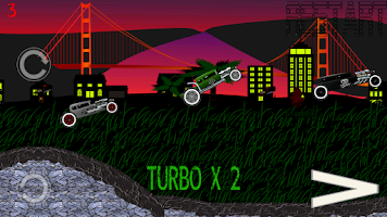 Screenshot of Ratrod Turbo Racing