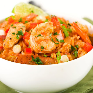 Chicken And Shrimp Jambalaya Slow Cooker Recipes | Yummly