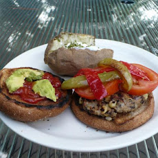 Black Bean-Brown Rice Burgers