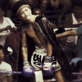 Muay Thai 3 by Bim Bom - Sports & Fitness Boxing ( ring, muay thai, thailand, combat, boxing, martial art, fighter, kickboxing )