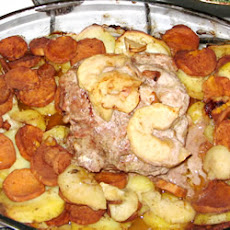 Cinnamon Pork Loin and Potatoes