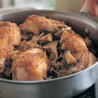 Braised Chicken Breast With Mushrooms Recipes