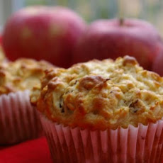 Oatmeal Apple Nut Muffins