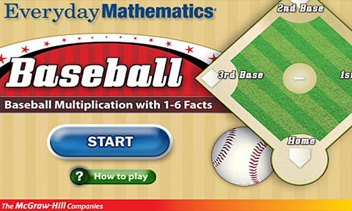 Everyday Math BaseballMult1-6