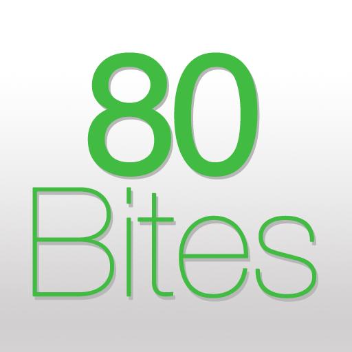 健康必備App|80Bites LOGO-綠色工廠好玩App