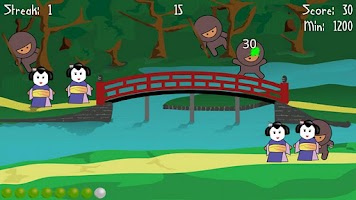 Screenshot of Ninja Splat (lite)