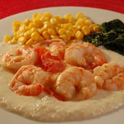 Lowcountry Shrimp and Cheese Grits