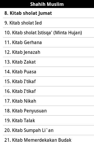Sahih Al-Muslim Malay Free