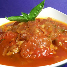 Fresh Crock Pot Tomato Sauce