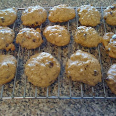 Heavenly Banana Oatmeal Chocolate Chip Cookies