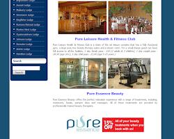 Screenshot of Lakeland Lodges