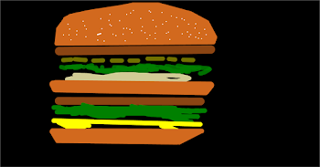Hamburger Drawing 4: BIG MAC