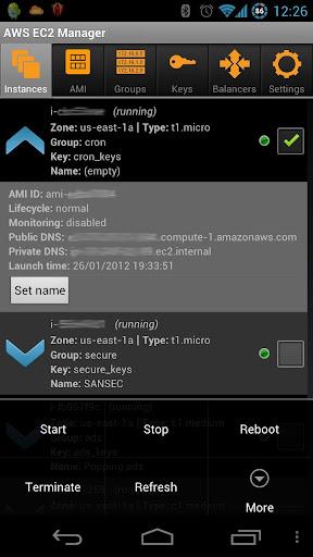 AWS EC2 Manager Free