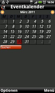 Szene1 Mobile Client - screenshot