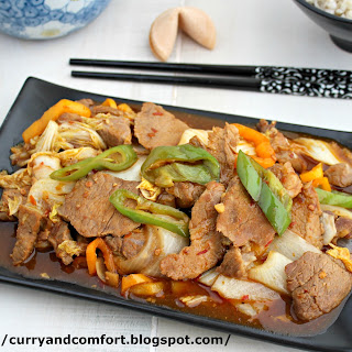 Twice Cooked Pork Stir Fry