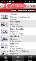 Screenshot of PlayCoach™ Rock Hard Abs