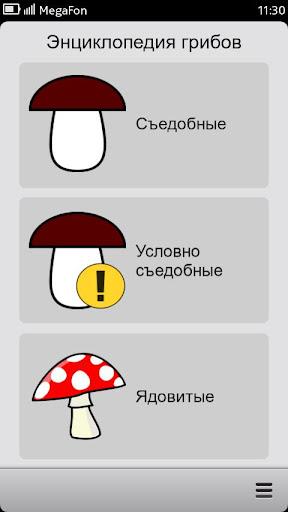 Энциклопедия грибов и ягод