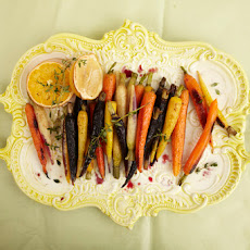 Citrus Glazed Roasted Carrots