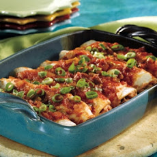 Picante Chicken Enchiladas