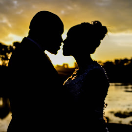 Silhouette by Timothy Katua - Wedding Bride & Groom