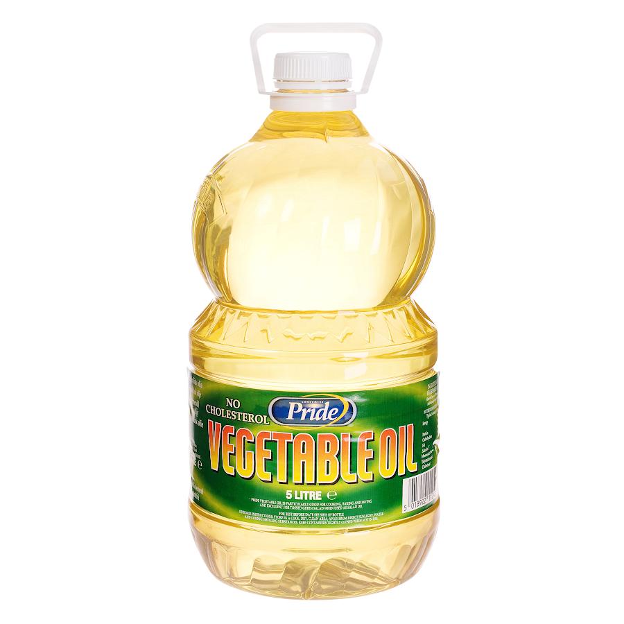 Pride Veg Oil 5L