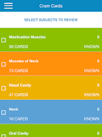 Screenshot of NBDE Anatomy for Dental Boards