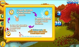 Screenshot of Sneezies