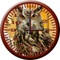 BoP 4 Horned Owl Analog Clock icon