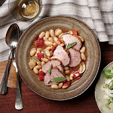 Pork Tenderloin and Cannellini Beans