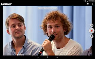 Screenshot of Bambuser