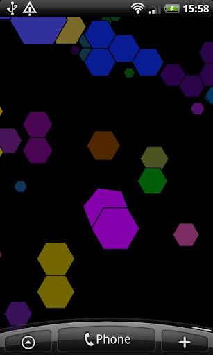 Hexagons Live Wallpaper
