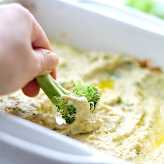 Broccoli Cheese Veggie Dip