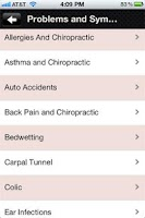 Screenshot of Optimal Health Chiropractic