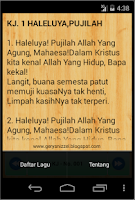 Screenshot of Kidung Jemaat