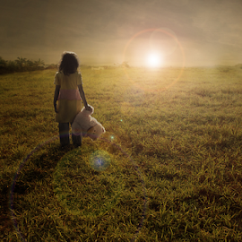 into the light by Budi Cc-line - Babies & Children Children Candids ( sunrise, light, childrens )