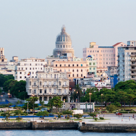 Havana city skyline,Cuba by Robert Machado - Landscapes Travel ( capitolio, skyline, revolution, tourism, architecture, havana, attraction, destination, landmark, tourist, sunset, buildings, sunrise, capitol, 50s, habana, cuba )