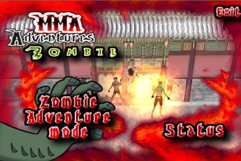 MMA的殭屍演示