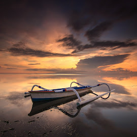 The Boat by Efraim Dastanta Ginting - Transportation Boats ( bali, sky, waterscape, transportation, seascape, landscape )