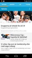 Screenshot of Mälarenergi Cup