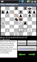 Screenshot of Chess Middlegames