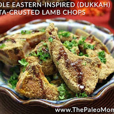 Middle Eastern-Inspired (Dukkah) Pepita-Crusted Lamb Chops