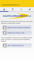 Screenshot of thehealthline.ca