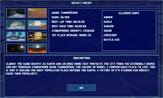 Screenshot of Space Racer 3D HD