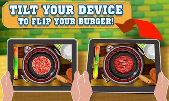 Screenshot of Burger Maker Crazy Chef
