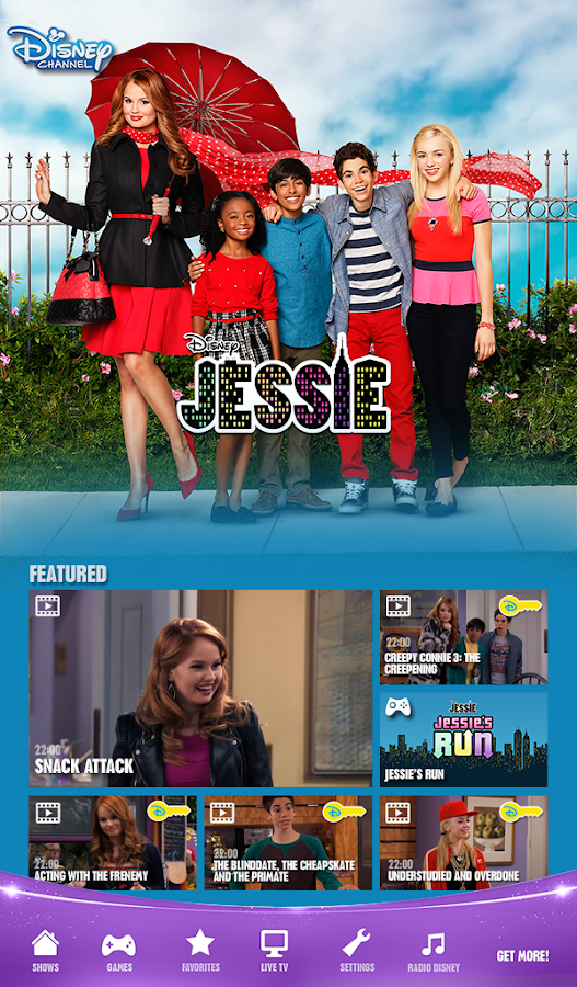 Disney Channel  - Watch & Play Screenshot 3