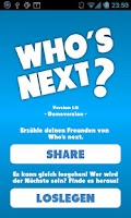 Screenshot of Who's next? - Dating App FREE